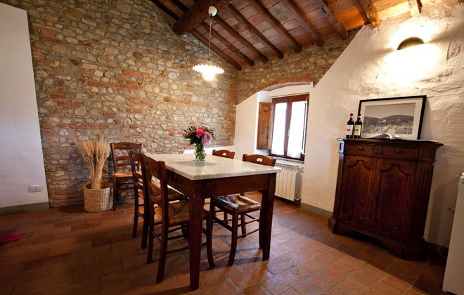 Italy - Tavernelle Val di Pesa - Residence Fattoria Querceto : Inside accommodation