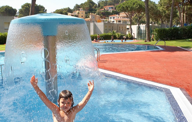 Spain - Playa de Pals - Camping Interpals : Outdoor swimming pool