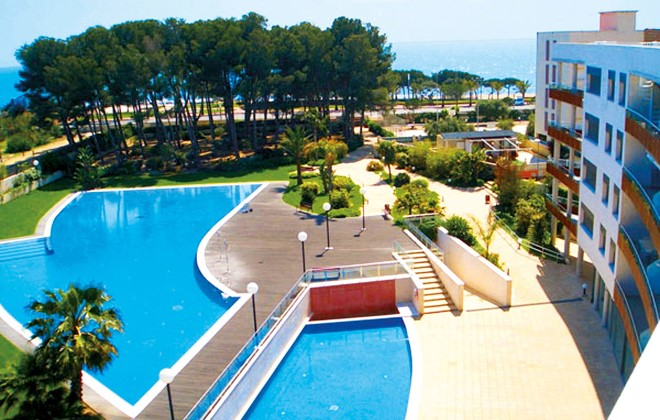 Spain - Cambrils - Residence Sol Cambrils Park : Outdoor swimming pool