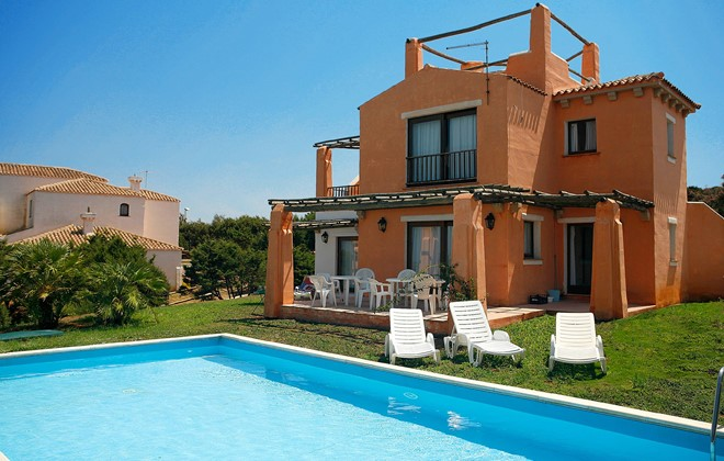 R sidence sea villas country village sardaigne stintino for Villa piscine sardaigne