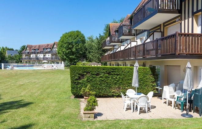 Cabourg - Odalys Residence Green Panorama : Terrace accommodation