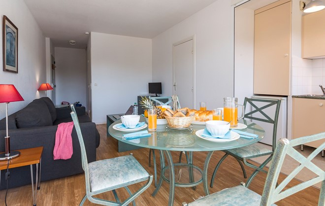 Cabourg - Odalys Residence Green Panorama : Inside accommodation