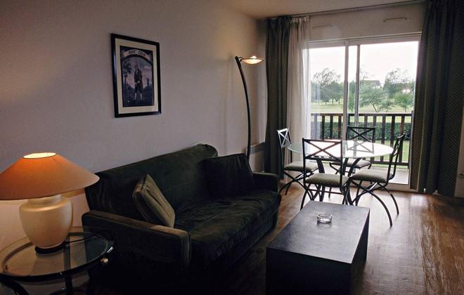 Cabourg - Odalys Residence Green Panorama : Inside of an apartment