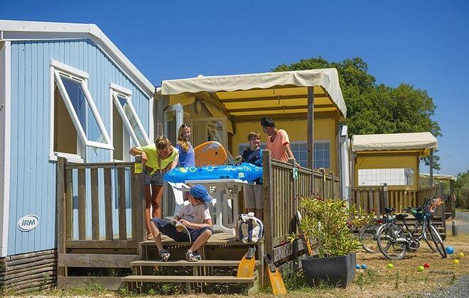 Camping La Redoute sur l'Ile de Ré Odalys # Location Mobil Home Ile De Ré Bois Plage