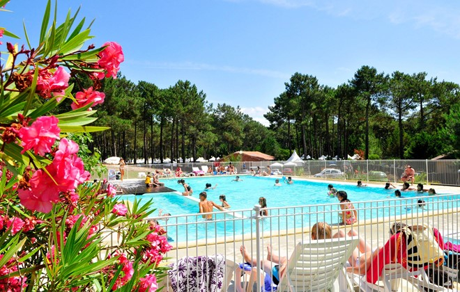 Camping Club Le Vivier  Biscarosse Plage  Odalys