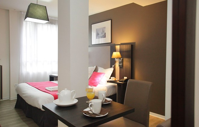 Location strasbourg appart h tel green marsh odalys for Appart hotel 17