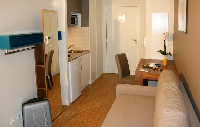 Appart 39 h tel odalys confluence lyon odalys for Reserver un appart hotel