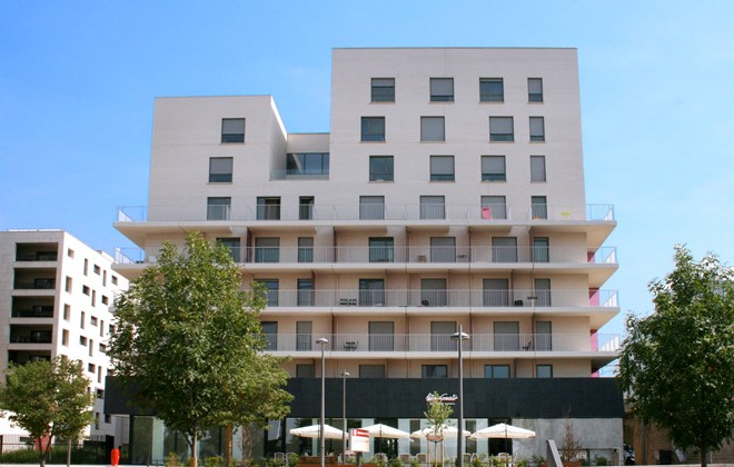 Appart 39 h tel odalys confluence lyon odalys for Appart hotel 17