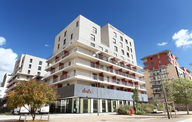 City holiday rentals lyon odalys vacances for Location appart hotel france