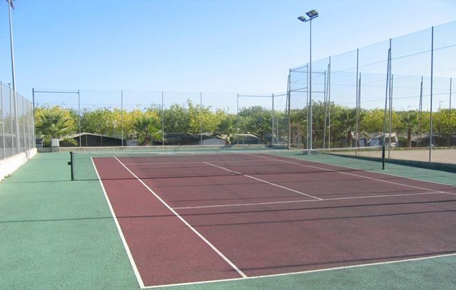 Spain - Creixell - Camping Creixell Beach Resort : Tennis