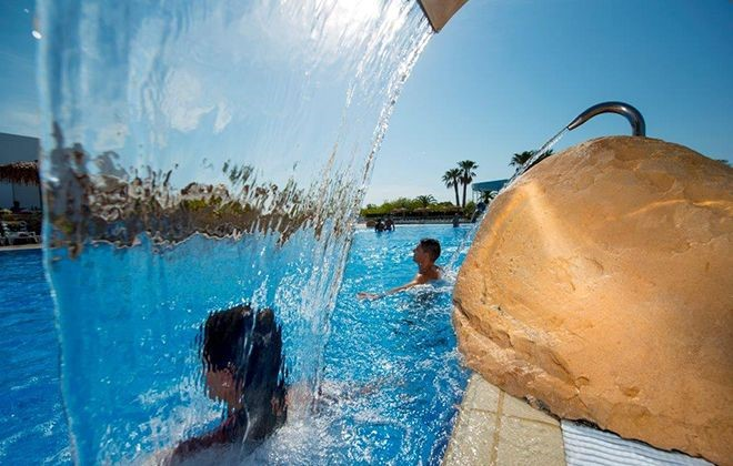 Spain - Creixell - Camping Creixell Beach Resort : Outdoor swimming pool