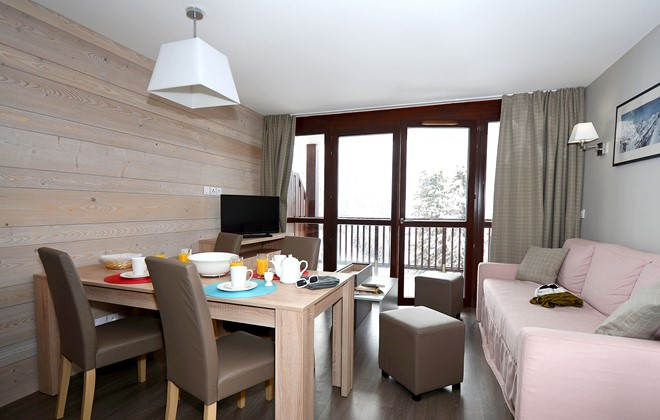Flaine - Odalys Residence Le Panoramic : Inside accommodation