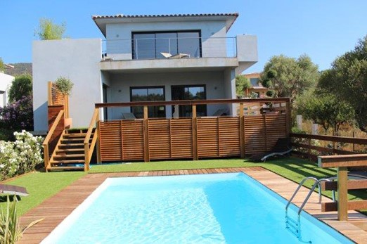 Location vacances villa avec piscine ste lucie de porto vecchio odalys for Villa vacances piscine