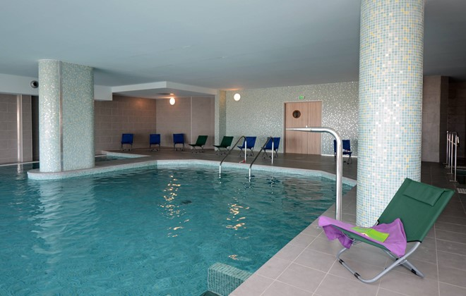 Port Barcares - Odalys Residence Le Lotus Blanc : Indoor swimming pool