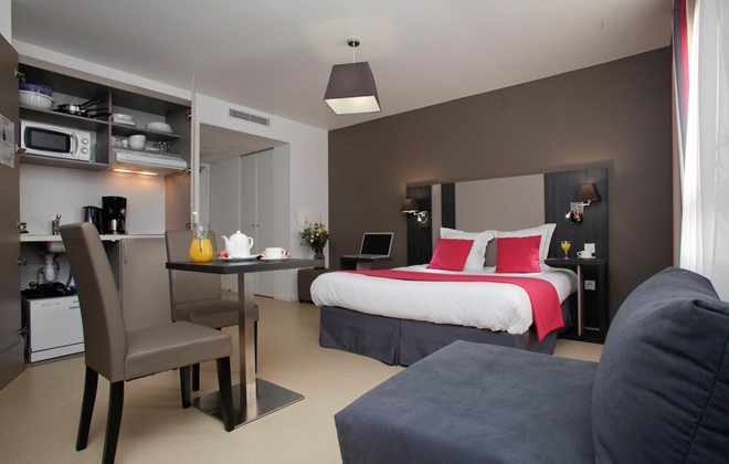 Location rennes appart h tel odalys rennes lorgeril for Appart hotel corse