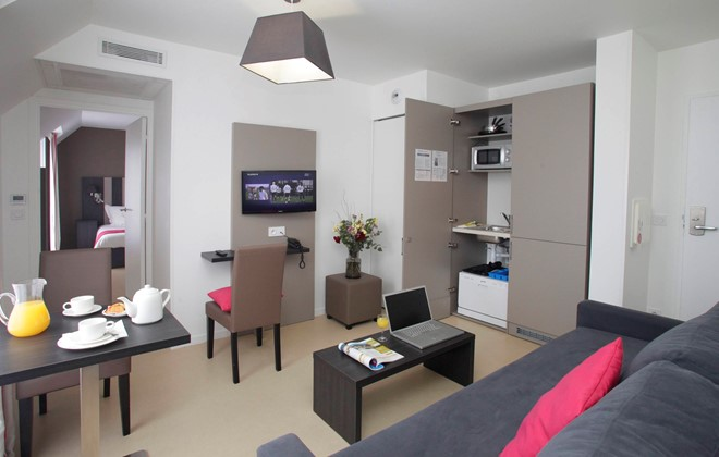 Location rennes appart h tel odalys rennes lorgeril for Appart hotel ussel