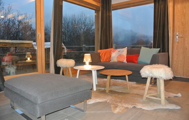 Valloire - Odalys Chalet Pure Altitude : Interior of the chalet