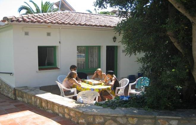 Spain - Cunit - Residence Can Torrents : Terrace accommodation
