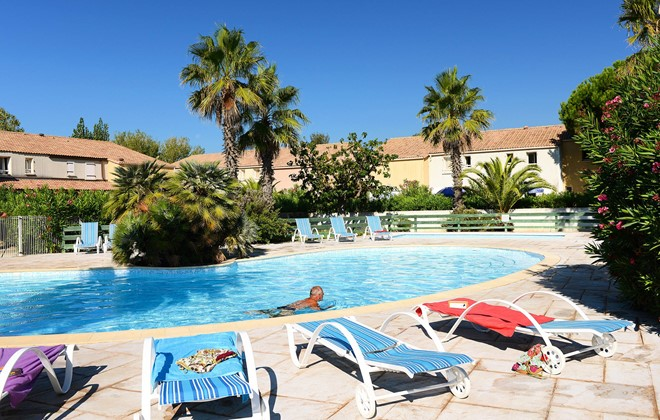 Vendres Plage - Valras - Odalys Residence Le Grand Bleu : Outdoor swimming pool