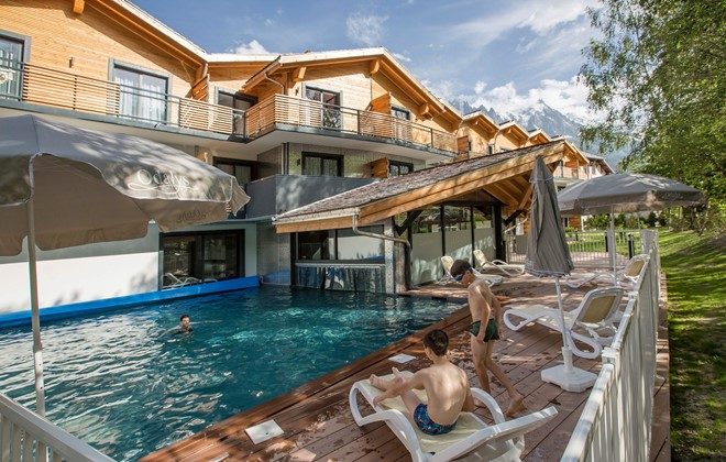 Residence Piscine Couverte Of R Sidence Prestige Odalys Isatis Chamonix En Haute