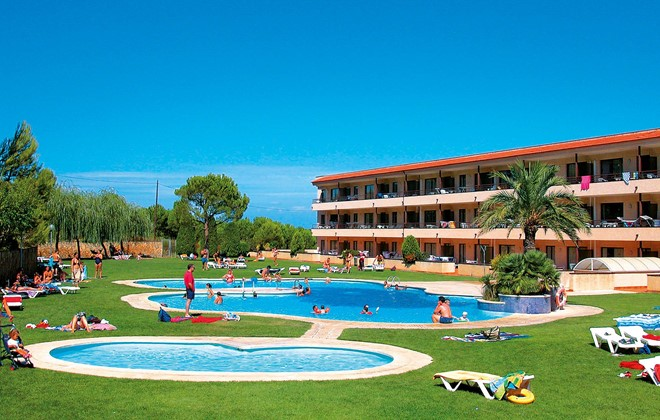 Spain - Playa de Pals - Residence Golf Beach  : Outdoor swimming pool
