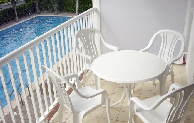 Spain - Sitges - Residence Amapola : Terrace accommodation