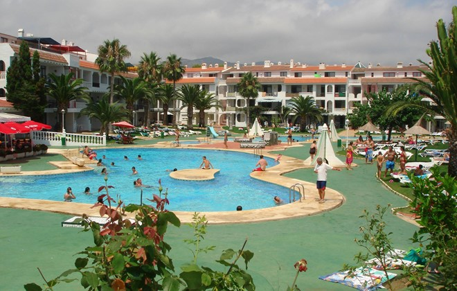 Spain - Alcoceber - Residence Playa Romana : Outdoor swimming pool