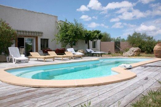 Location vacances villa avec piscine figari odalys for Gite corse du sud avec piscine