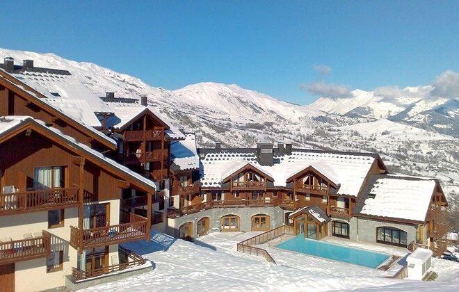 residence alpages du corbier le corbier ski rentals odalys