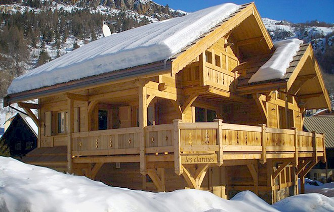 chalet les clarines alpes du sud serre chevalier. Black Bedroom Furniture Sets. Home Design Ideas