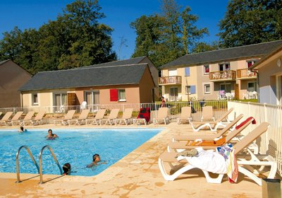 Vacation Rental Rignac - Club Residence le Hameau du Lac : exterior heated swimming pool