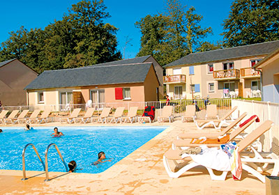 Rignac - Odalys Club Residence Le Hameau du Lac : exterior heated swimming pool