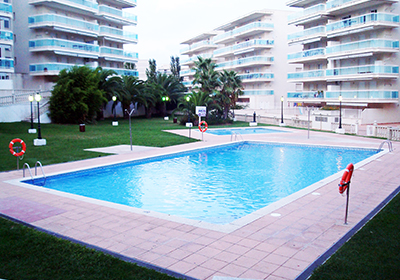 Vacation Rental Salou - Spain - Residence Village Park II : Interior view of an apartment