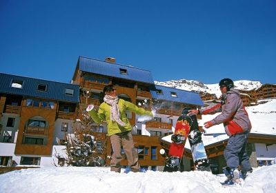 Vacation Rental Val Thorens - Residence  Le Valset