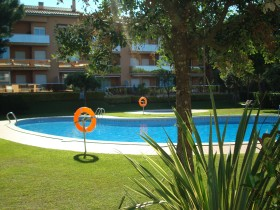 Vacation Rental Playa de pals - Spain - Residence Sa Guilla II : The swimming pool