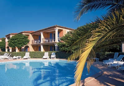 Vacation Rental Grimaud - Residence Club La Palmeraie : Exterior heated swimming pool