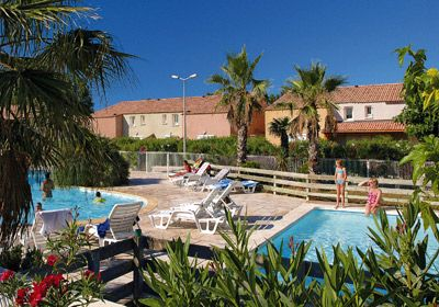 Vacation Rental vVendres Plage - Résidence le Grand Bleu : The swimming pool