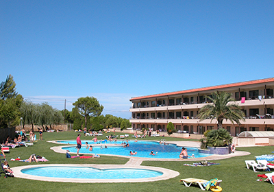 Vacation Rental Pals - Spain - Residence Golf Beach : The swimming pool