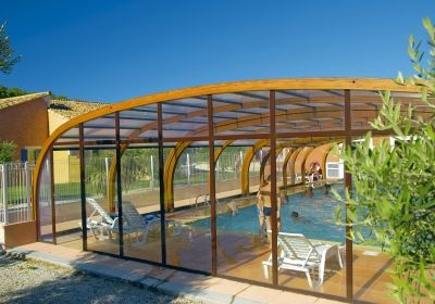 Vacation Rental Béziers - Canal du Midi - Residence-club Les Berges du Canal : The swimming pool