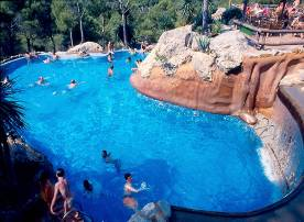 Vacation Rental Estartit - Spain - Residential Leisure Park Castell Mongri I : One of the three swimming pool