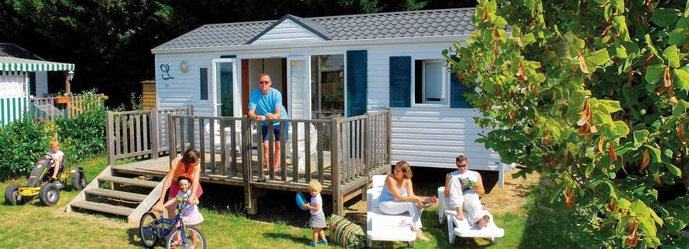 Holiday rentals in our Mobile Homes