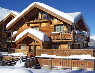 chalet holiday isere