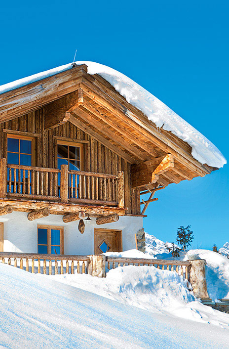 ski chalets ideal location
