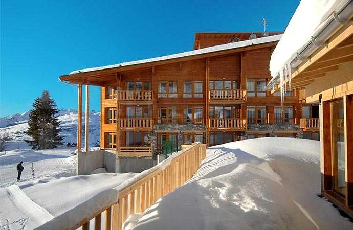 ski holiday rentals les arcs
