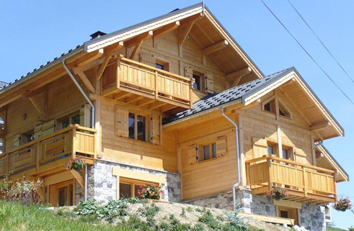 ski chalet holiday rentals la toussuire