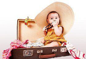 partir en vacances avec bébé