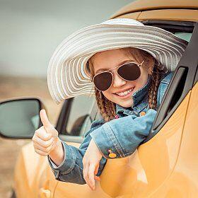 En voiture pour des vacances avec enfants