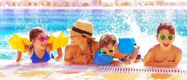 activités vacances piscine