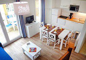 kitchenette pour cuisiner en vacances