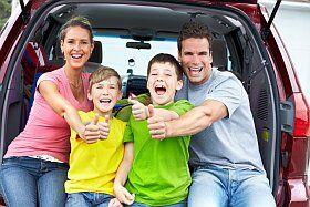 Un départ en vacances en famille sous les meilleures auspices